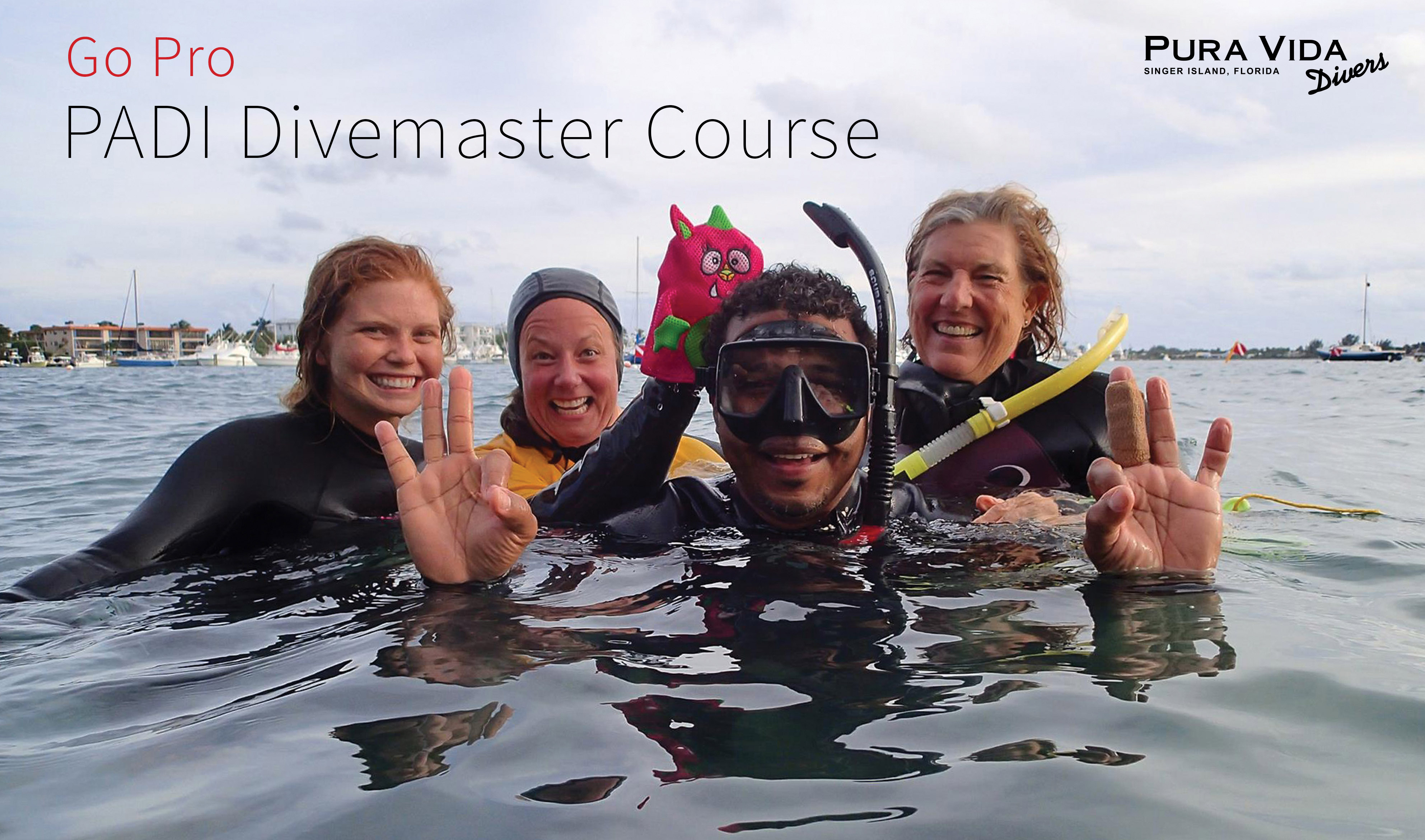 May Divemaster Course By Pura Vida Divers