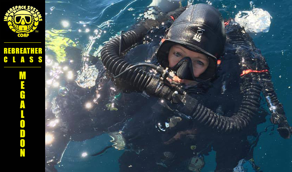 megalodon tech rebreather diving class