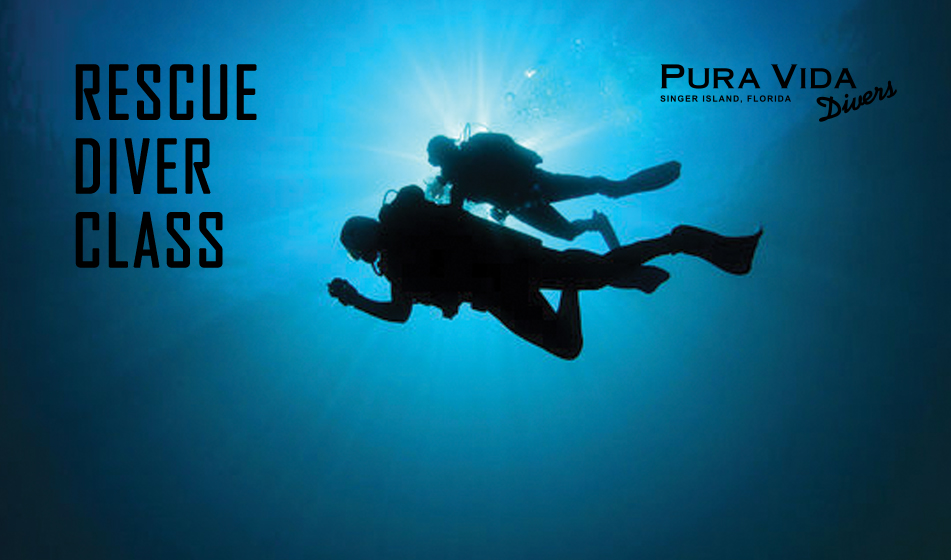 May 8 PADI Rescue Diver class