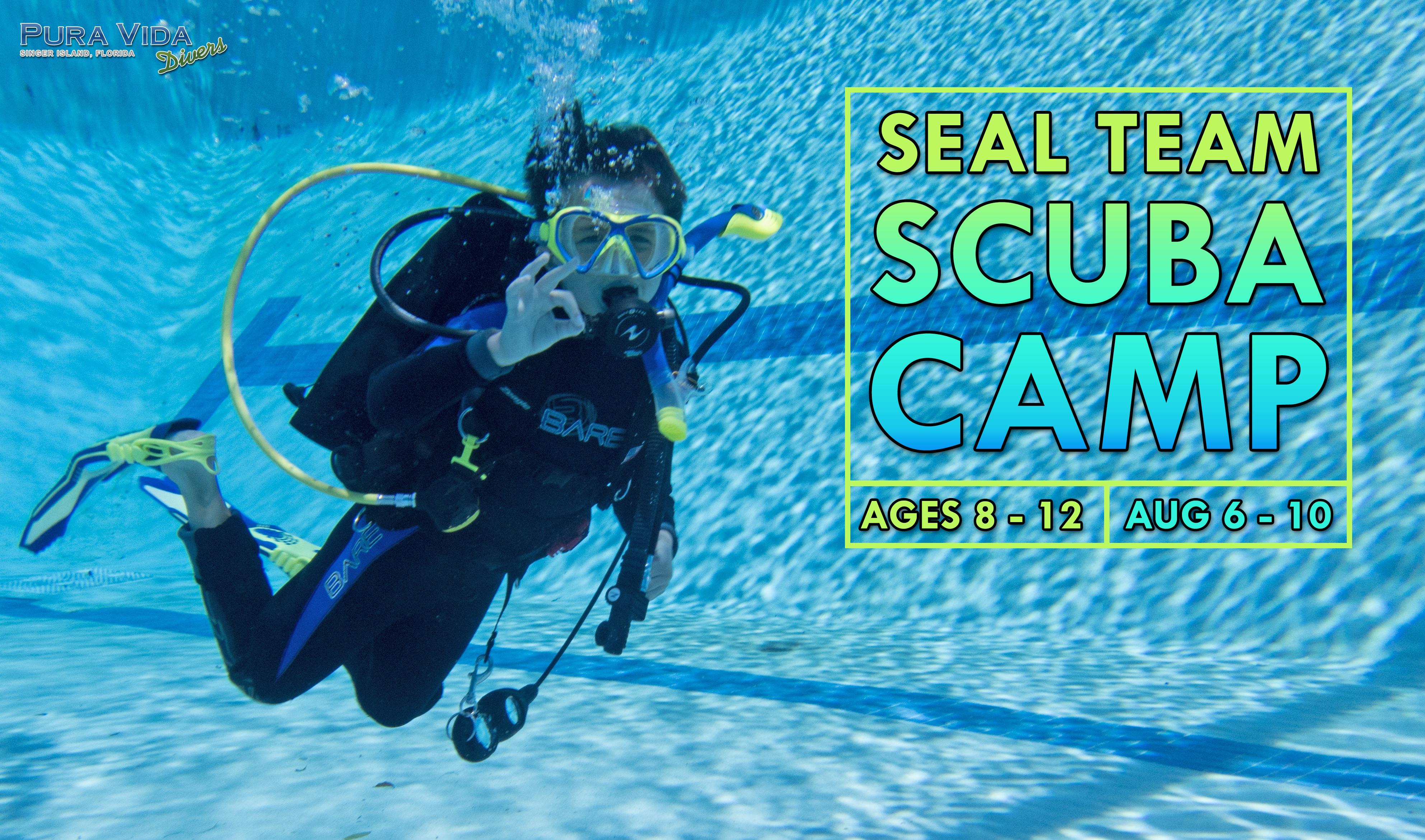 Seal Team Scuba Camp With Pura Vida Divers